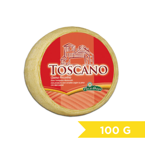 Queso Pecorino Toscano S/Pimienta 100g