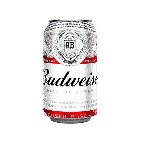 Cerveza Budweiser lata 8 oz