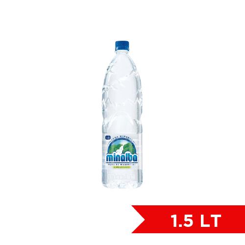 Minalba Agua Mineral 1.5L