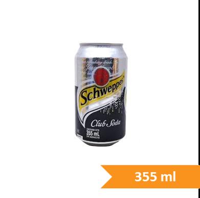 Soda Schweppes Lata