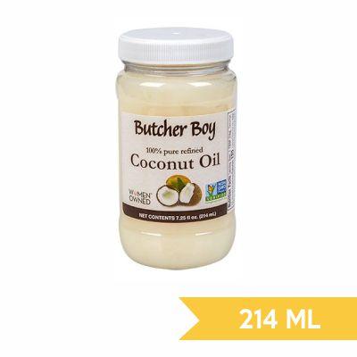 Coconut oil butcher boy 214 ml