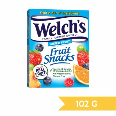 Fruit snacks welch´s mixed fruit 102 gr