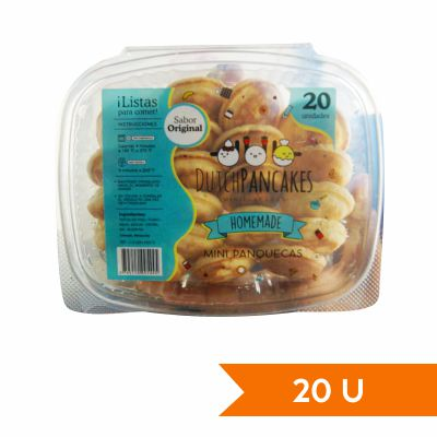 Dutch Pancakes Mini Panquecas Sabor Original