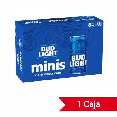 Caja de Cerveza Bud Light Lata 24 UND 8oz