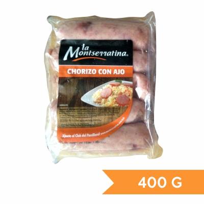 La Montserratina Chorizo con Ajo