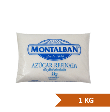 Azucar Montalban Refinada 1Kg
