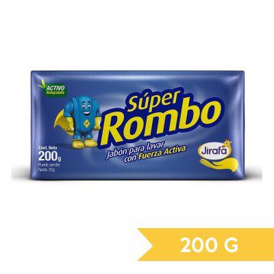 Super Rombo Jabón Panela para Lavar 200g