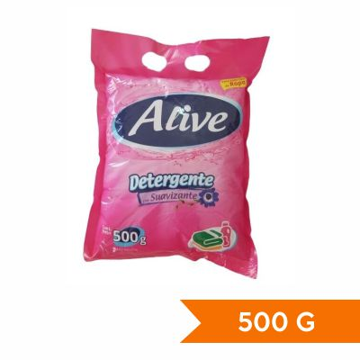 Alive Detergente con suavizante 500g