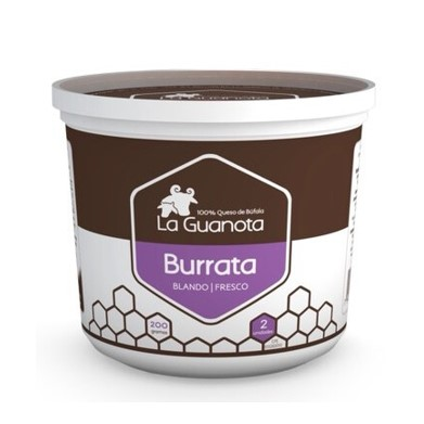 Queso de Bufala Burrata La Guanota 200g