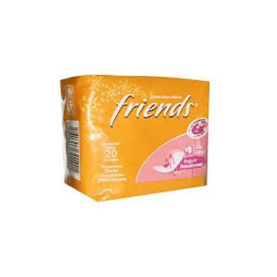 Protectores Diarios Friends Tela Suave con Desodorante  20 und