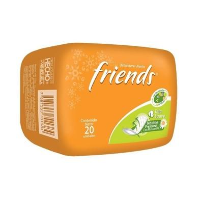 Protectores Diarios Friends 20 und