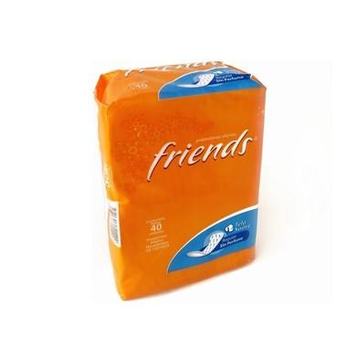 Protectores Diarios Friends Tela Suave Sin Perfume 40 Und