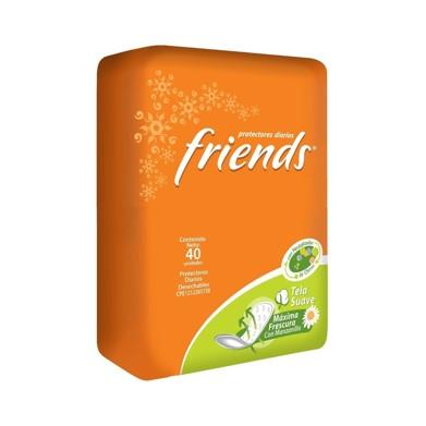 Protectores Diarios Friends Tela Suave Fresh 40 und