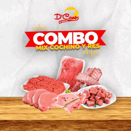 Combo Mix Cochino y Res