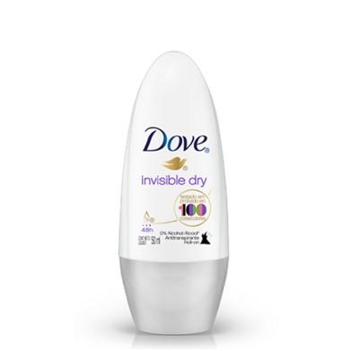 Dove Desodorante Roll on Invisible Dry  50 ml