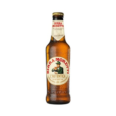 Cerveza Moretti 330ML Botella
