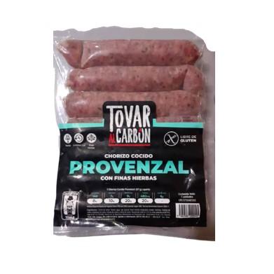 Chorizo Cocido Provenzal Tovar al Carbón 7 unidades