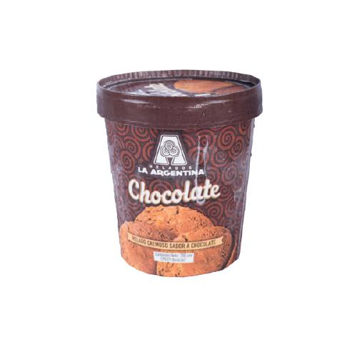 Helado Tradicional Chocolate La Argentina 700 CC