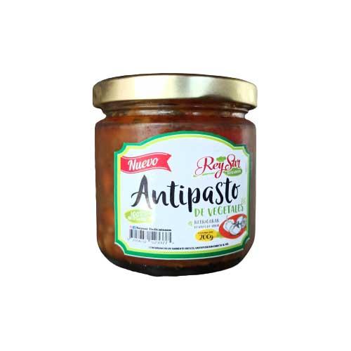 Antipasto De Vegetales Rey Sar 200 c