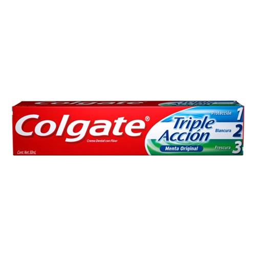 Crema Dental Colgate Triple Aacción Menta