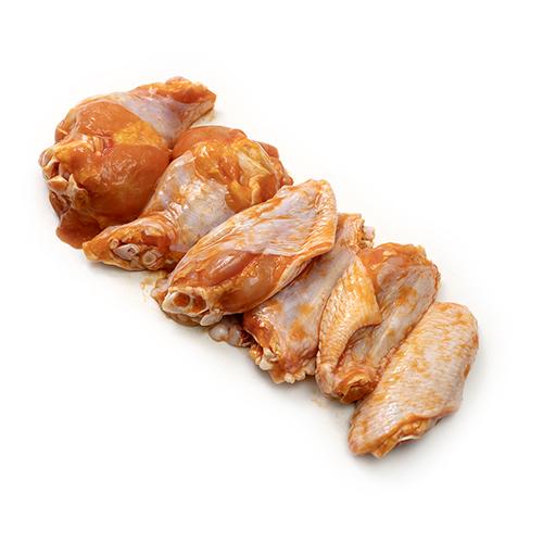 Alitas de Pollo Preparadas 1Kg