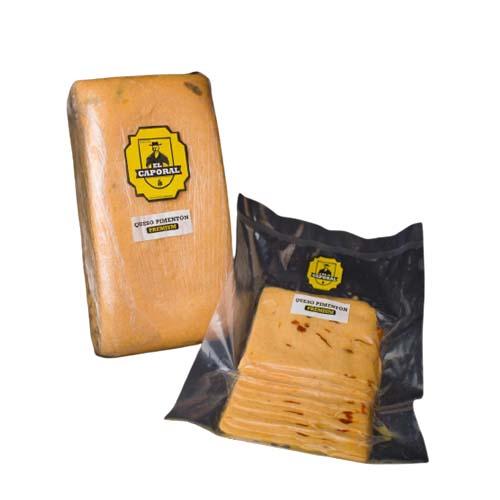 Queso Mozzarella Pimentón Caporal 500 gr
