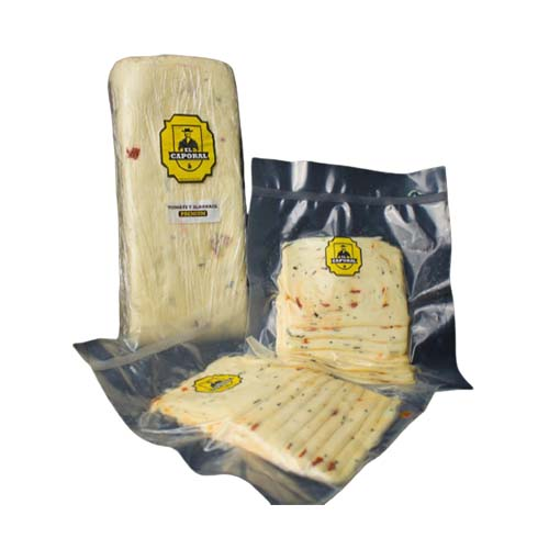 Queso M. Tomate & Albahaca Caporal 250 gr