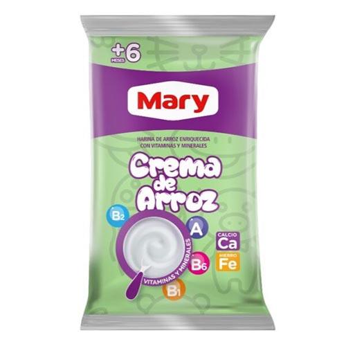 Crema de Arroz Mary Bolsa de 450 gr
