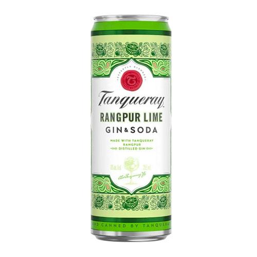 Tanqueray Rangpur Lime Gin & Soda