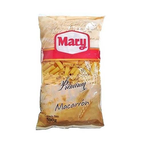 Pasta Mary Macarrón 500 gr