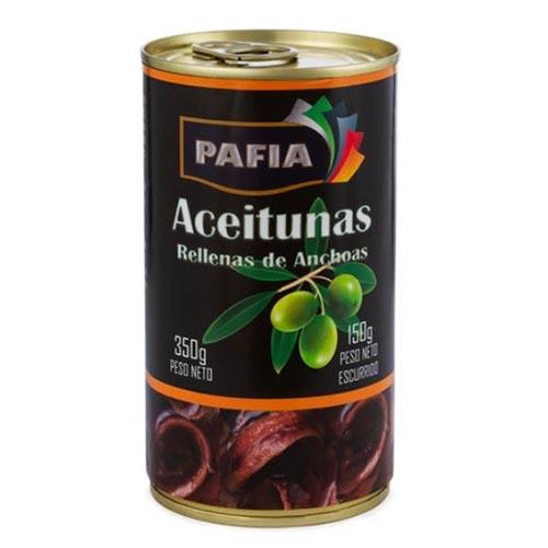 Aceitunas Rellenas De Anchoa 350 Gr