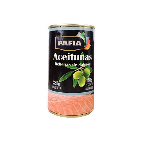 Aceituna Rellena De Salmon 350 Gr