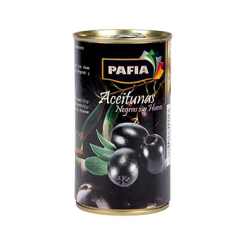 Aceituna Negras Con Hueso 350 Gr