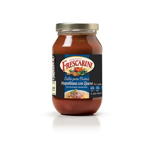 Salsa Para Pasta Napolitana con Queso Frescarini 490g