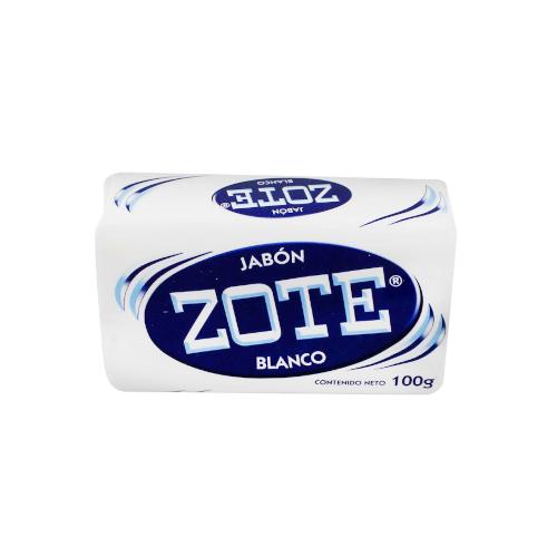Jabón Blanco Zote 100 Gr
