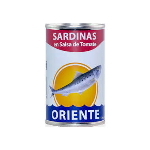 Sardina En Salsa De Tomate Oriente 170 G